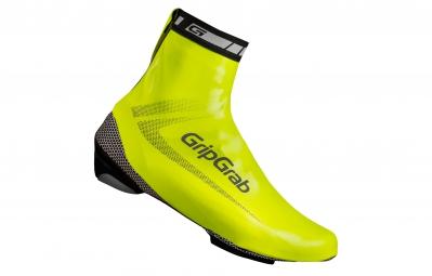 gripgrab sur chaussures race aqua jaune fluo hi vis