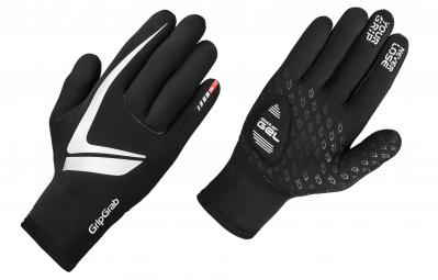 gripgrab gants neoprene noir