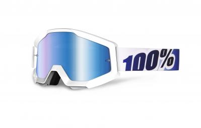 100 masque strata blanc ecran bleu iridium