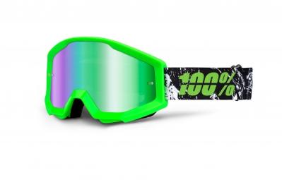100 masque strata crafty vert ecran vert iridium