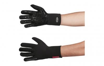 northwave paire de gants longs neoprene noir