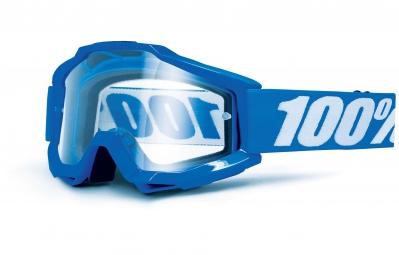 100 masque accuri otg porteur de lunettes bleu ecran transparent