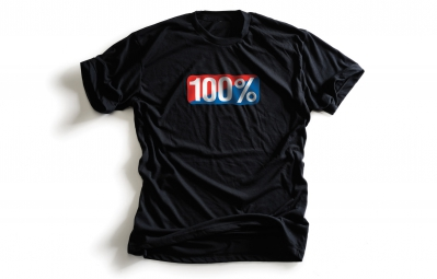 100 t shirt old school noir