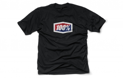 100 t shirt official noir