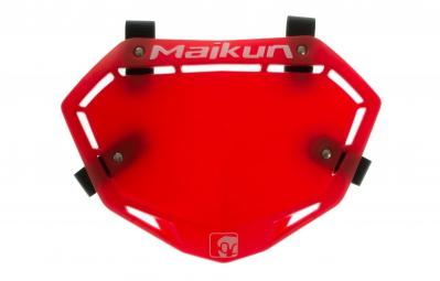 maikun plaque 3d mini rouge
