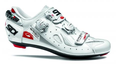 chaussures route sidi ergo 4 blanc