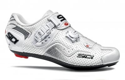 chaussures route sidi kaos air blanc