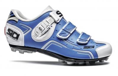 chaussures vtt sidi buvel bleu