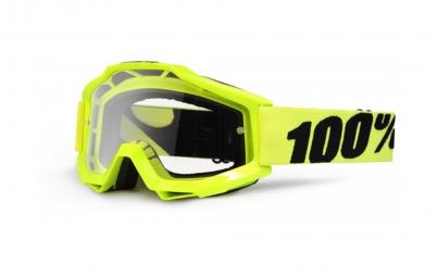 100 masque accuri jaune fluo ecran transparent