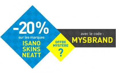 code promo offre mystere myster20