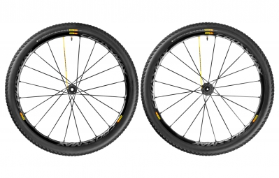 mavic 2016 paire de roues crossmax sl pro noir 27 5 15x100mm 9x100mm av 142x12mm 135