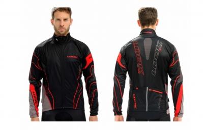 look veste pro team noir rouge