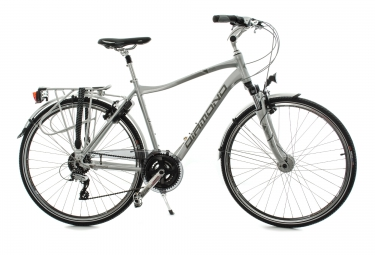 diamond velo trekking galaxy 24 vitesses argent
