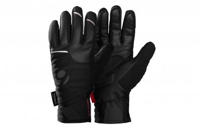 bontrager paire de gants velocis softshell noir