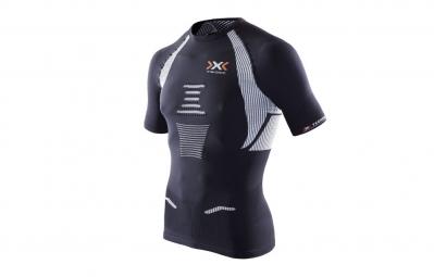 x bionic maillot the trick running noir blanc