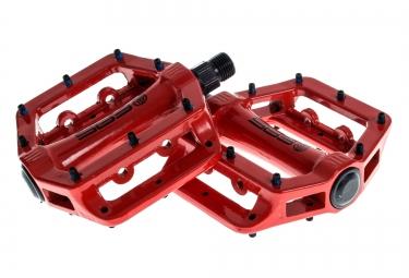 sb3 pedales fast rouge aluminium