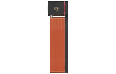 abus antivol ugrip bordo 5700 80cm avec sacoche orange