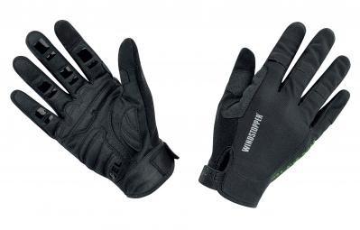 gore bike wear gants power trail windstopper light noir