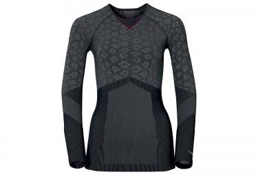 odlo 2016 t shirt manches longues femme evolution warm blackcomb