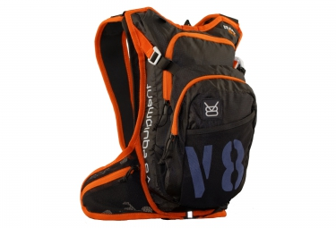 v8 equipment sac a dos rac 6 1 noir orange