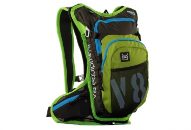 v8 equipment sac hydratation rac 6 1 vert noir bleu
