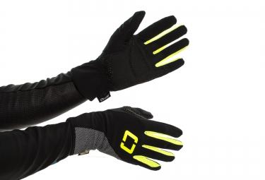 isano gants longs hiver is 6 0 noir fluo