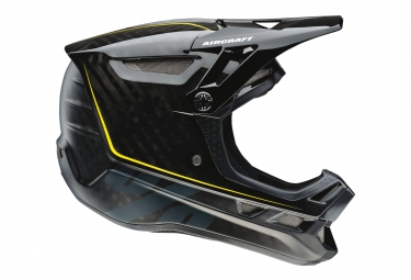 casque integral 100 aircraft raw noir