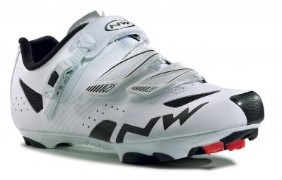 chaussures vtt northwave hammer srs blanc noir