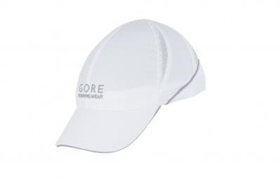 gore running wear casquette blanc