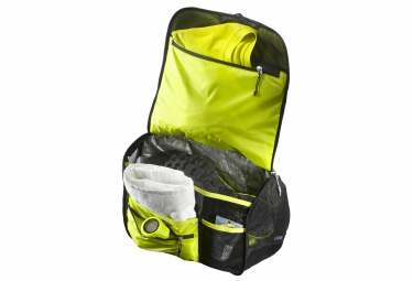 salomon sac bandouliere go to run gris jaune