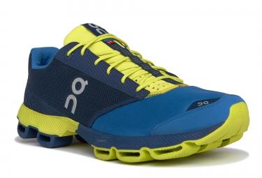 on running cloudster bleu jaune