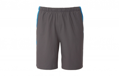 the north face short ampere dual gris bleu homme