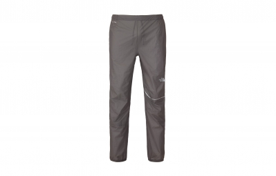 the north face pantalon impermeable storm stow gris homme