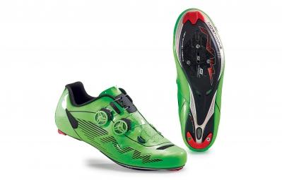 chaussures route northwave evolution plus vert