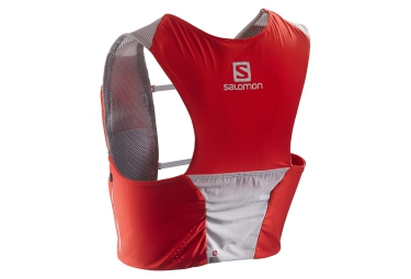 salomon sac a dos s lab sense ultra set rouge blanc