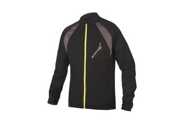endura maillot manches longues mt500 full zip noir jaune