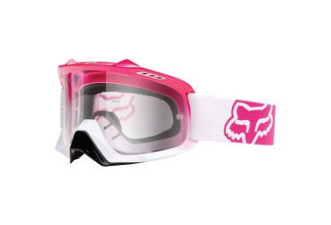 fox masque air spc rose blanc ecran transparent