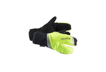craft paire de gants 3 doigts shield jaune noir