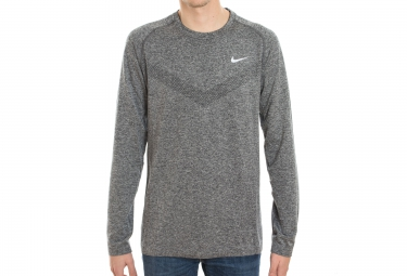 nike maillot dri fit knit gris homme