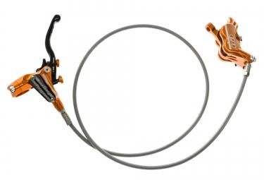 hope frein avant tech 3 e4 durite aviation orange sans disque ni adaptateur