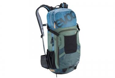 evoc sac protector enduro team 16l bleu vert