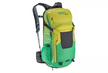 evoc sac protector trail 20l vert jaune