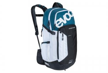 evoc sac a dos explorer 30l team noir blanc bleu