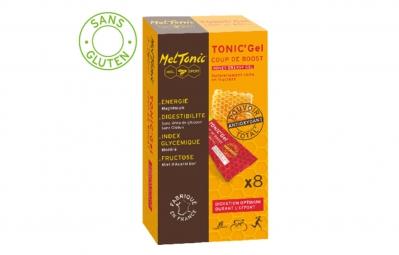 meltonic 8 gels energetiques coup de boost miel magnesium pamplemousse