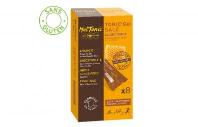 meltonic 8 gels energetiques sale miel fleur de sel