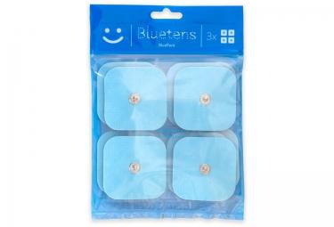 bluetens pack de 4 electrodes
