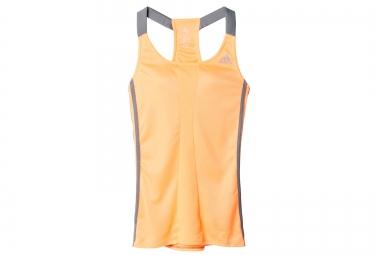 adidas debardeur response femme orange