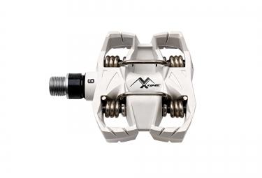 time paire de pedales mx6 blanc