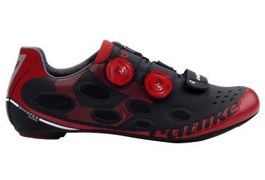 chaussure route catlike whisper noir rouge