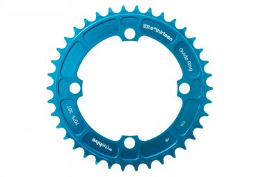 e thirteen plateau dh 104mm 8 9 10 v bleu